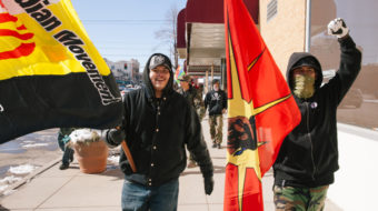 """""""On a Knife Edge"""": Coming of age on the Pine Ridge reservation"""