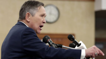 Kucinich launches campaign against assault weapons