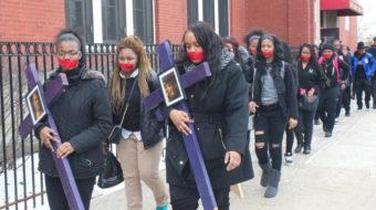 Chicago students add budget cuts, school closings to gun control agenda