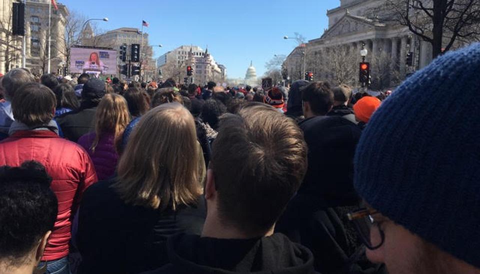 Marching for gun control: A family affair