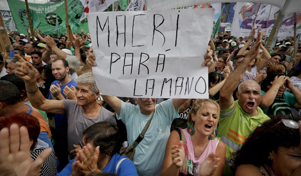 Fightback against neoliberal policies in Argentina Intensifies