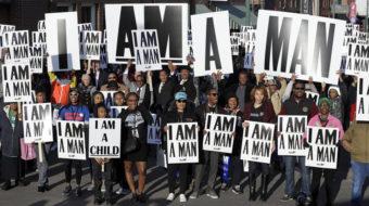 Los participantes de la marcha 'I AM 2018' continúan la lucha del Dr. King
