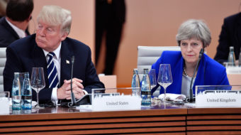 British Labour leader Corbyn to PM: Don't join Trump's Syrian war