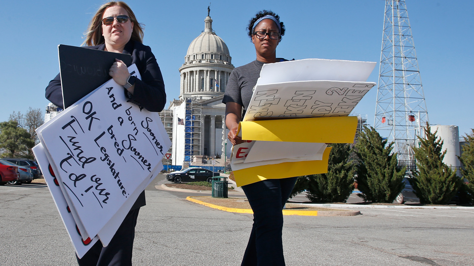 Workplace organizing pays off, just ask public school teachers