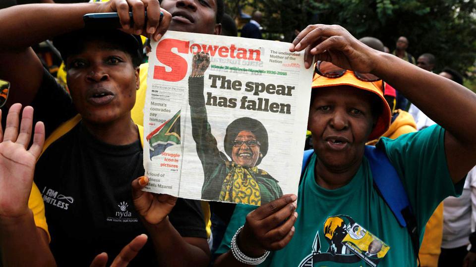 Anti-apartheid activist Winnie Madikizela-Mandela, 1936-2018
