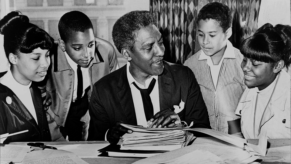 Bayard Rustin: The gay union organizer who helped MLK change the world