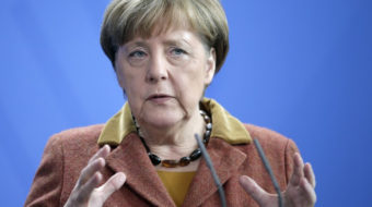 Dark times have Germany, like the world, on a tightrope