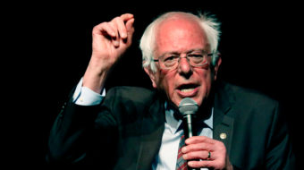 """Sanders: Make card-check the law, outlaw """"right to work"""""""