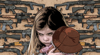 Comic book artists and survivors address gun violence
