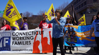 Connecticut May Day rally inspires unity for justice, equality, and peace