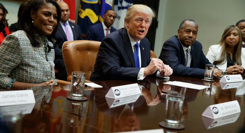 """Trump's """"new deal for blacks"""" was dealt from the bottom of the deck"""