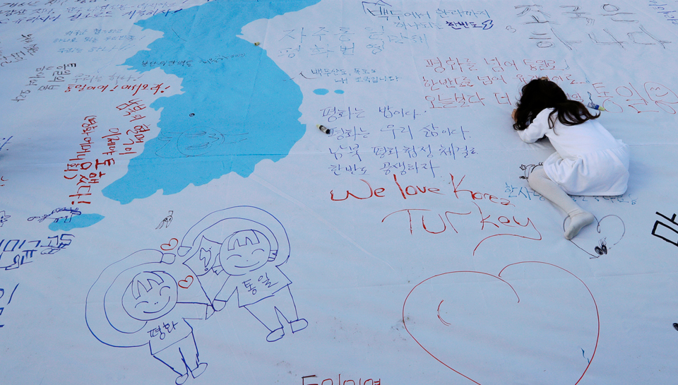 Koreans demand peace, but will Trump stick to his pledges?