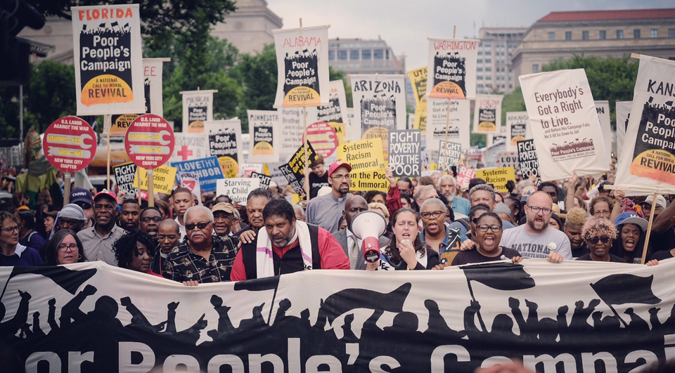 New Poor People's Campaign goes to the halls of Congress