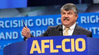 AFL-CIO president: 'Workers are united to defeat Kavanaugh'