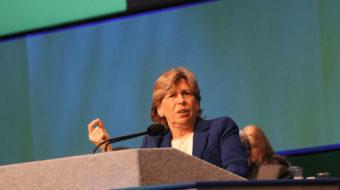 La Presidenta de la AFT habla en la Convención de AFSCME
