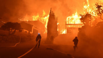 Wildfires blaze across the west, fueled by drought, wind