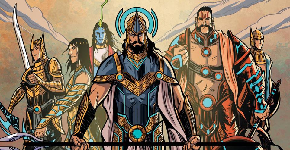 Superheroes of the East: Graphic India heroes beyond Western gaze