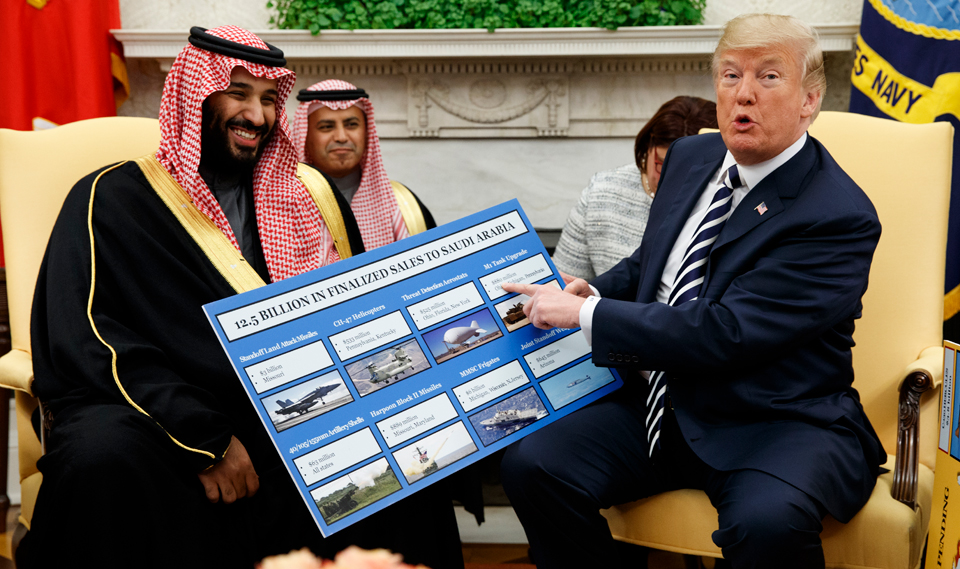 Why U.S. client state Saudi Arabia escapes the Muslim ban