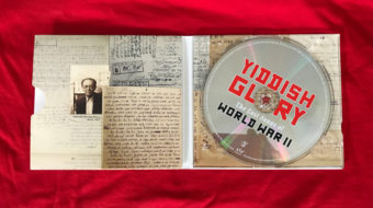 'Yiddish Glory' CD records Jewish pain and resistance in World War II
