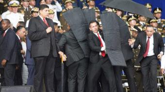 Attempted assassination targets Venezuelan President Maduro
