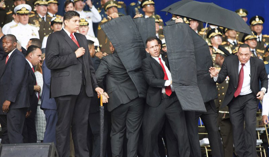 Attempted assassination targets Venezuelan President Maduro