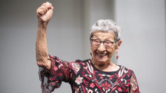 Labor Day celebration of struggle: Bea Lumpkin's 100th Birthday!