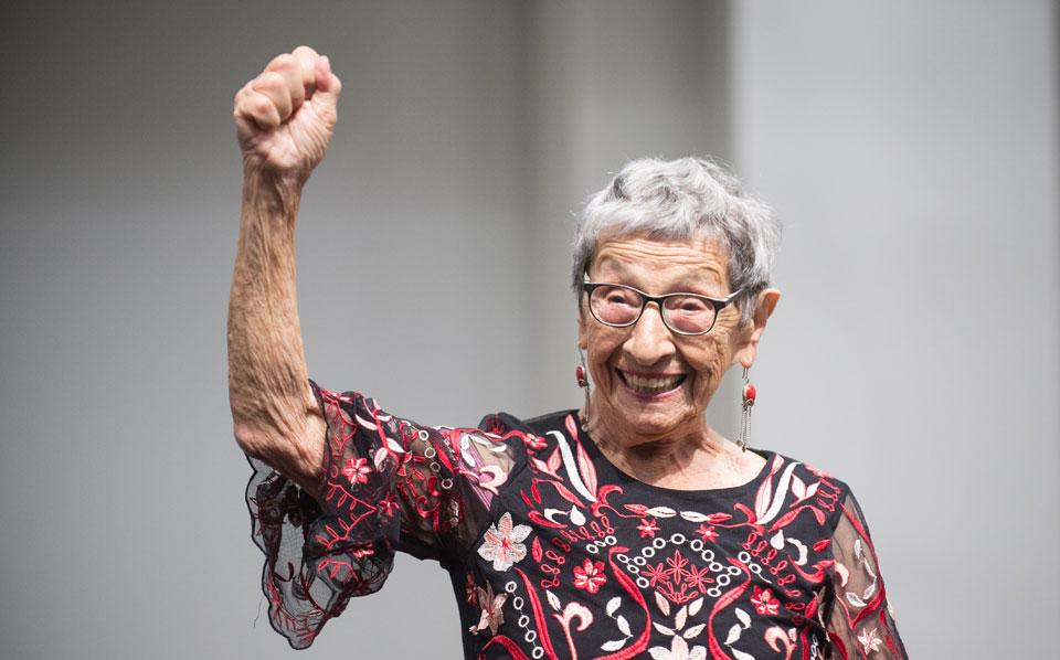 Labor Day celebration of struggle: Bea Lumpkin's 100th Birthday!