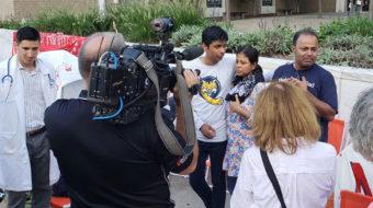 Mother wins stay of deportation during hunger strike