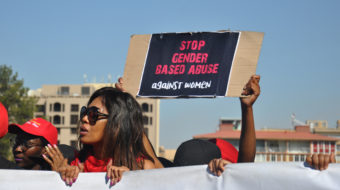 South Africa's women demand an end to gender-based violence
