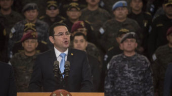 Cornered Guatemalan government lashes out against corruption accusers