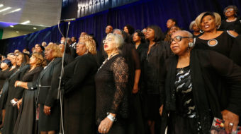 Amazing Aretha: L.A.'s Black community and others gracefully honor Queen of Soul