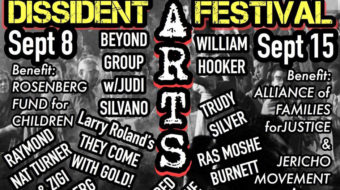 Dissident Arts Festival benefits families of political prisoners, celebrates free expression