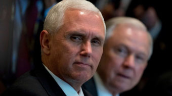 Pence exposed as part of Manafort's right-wing trans-atlantic conspiracy