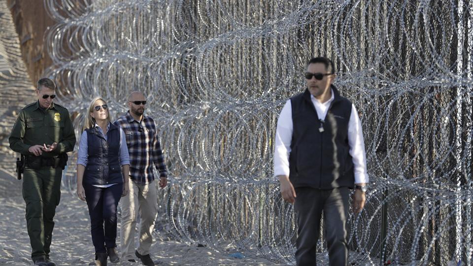 Trump frustrado y confundido sobre la frontera