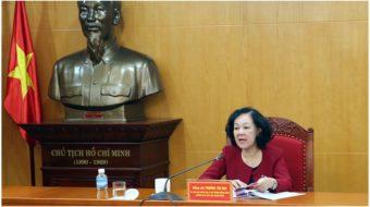U.S. and Vietnamese Communist Parties meet in Washington