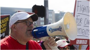 Striking health workers demand parity for mental and physical healthcare