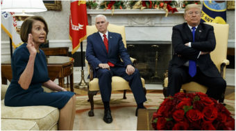 Trump denied money for border wall; vows government shutdown
