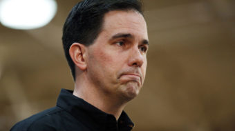 Scott Walker refusing to ride quietly into the sunset