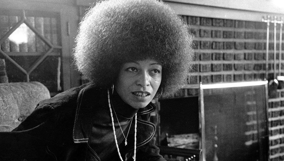 In defense of human rights and Angela Davis
