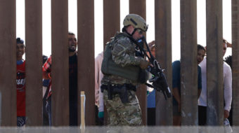 We do have a border crisis—the one Trump created