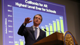 """New governor's """"California for All"""" budget centered on education and health"""