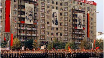 "East Berliners: We live on Karl Marx Allee, not ""Capitalist Avenue"""