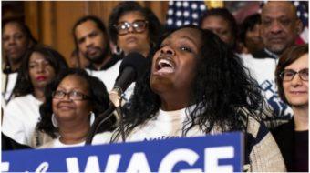 Democrats in Congress unveil $15 an hour minimum wage bill