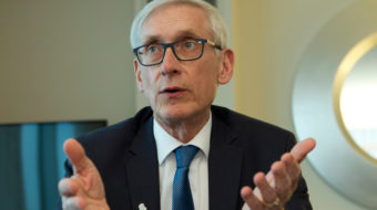 Despite roadblocks Wisconsin Gov. Evers pushes forward