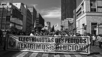 After the national elections Mexico's electrical workers rebuild their union
