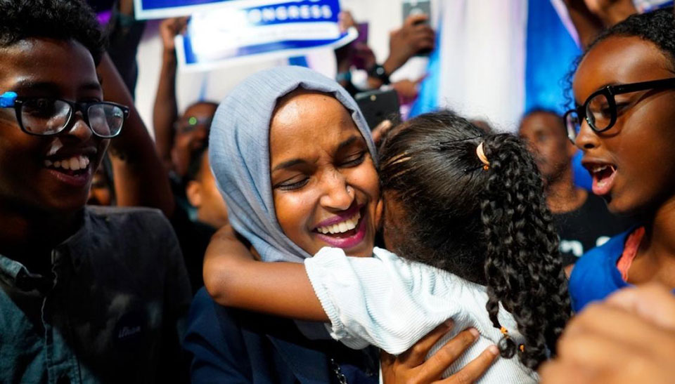 """Trump says some anti-Semites are """"very nice,"""" but not Rep. Ilhan Omar"""