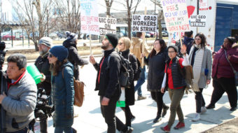 Grad student workers in Chicago strike UIC, administration refuses to budge