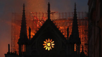 """""""Our Lady on fire, France in tears""""—Notre Dame blaze horrifies world"""
