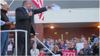 Stop & Shop strikers get boost from AFL-CIO head Richard Trumka