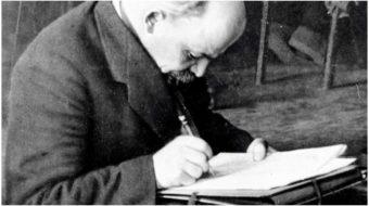 When Lenin spoke to American workers